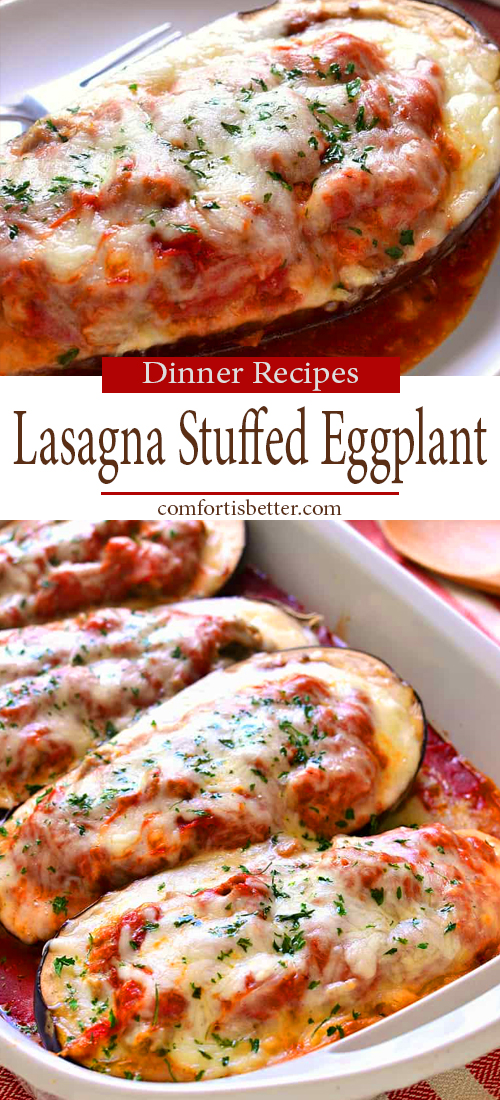 Best Lasagna Stuffed Eggplant Recipe