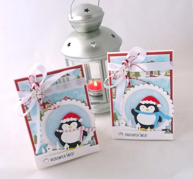 Pingwiny w mieście - DT Galeria Papieru
