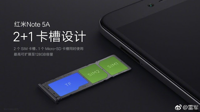 Harga dan Spesifikasi Xiaomi Note 5A