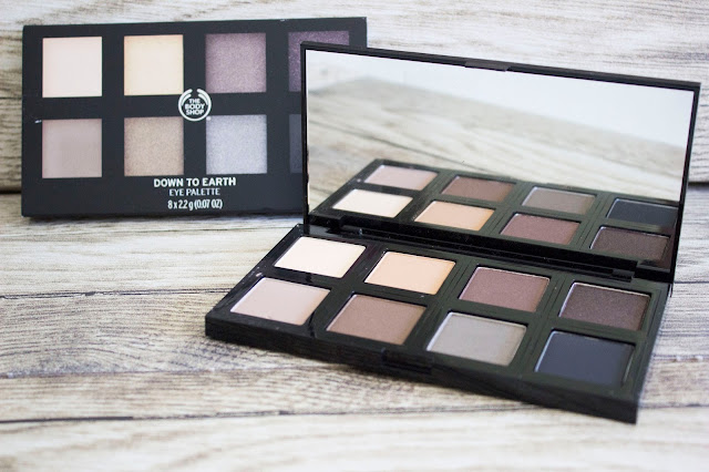 Palette Down To Earth The Body Shop