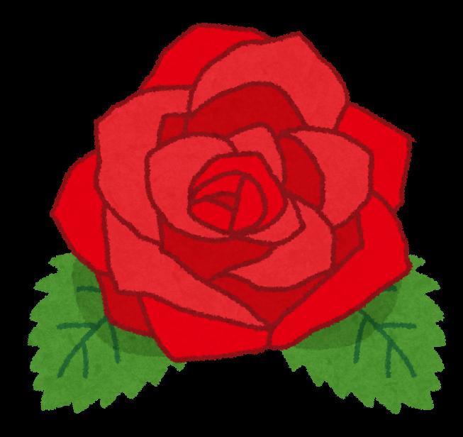 薔薇の花のイラスト かわいいフリー素材集 いらすとや