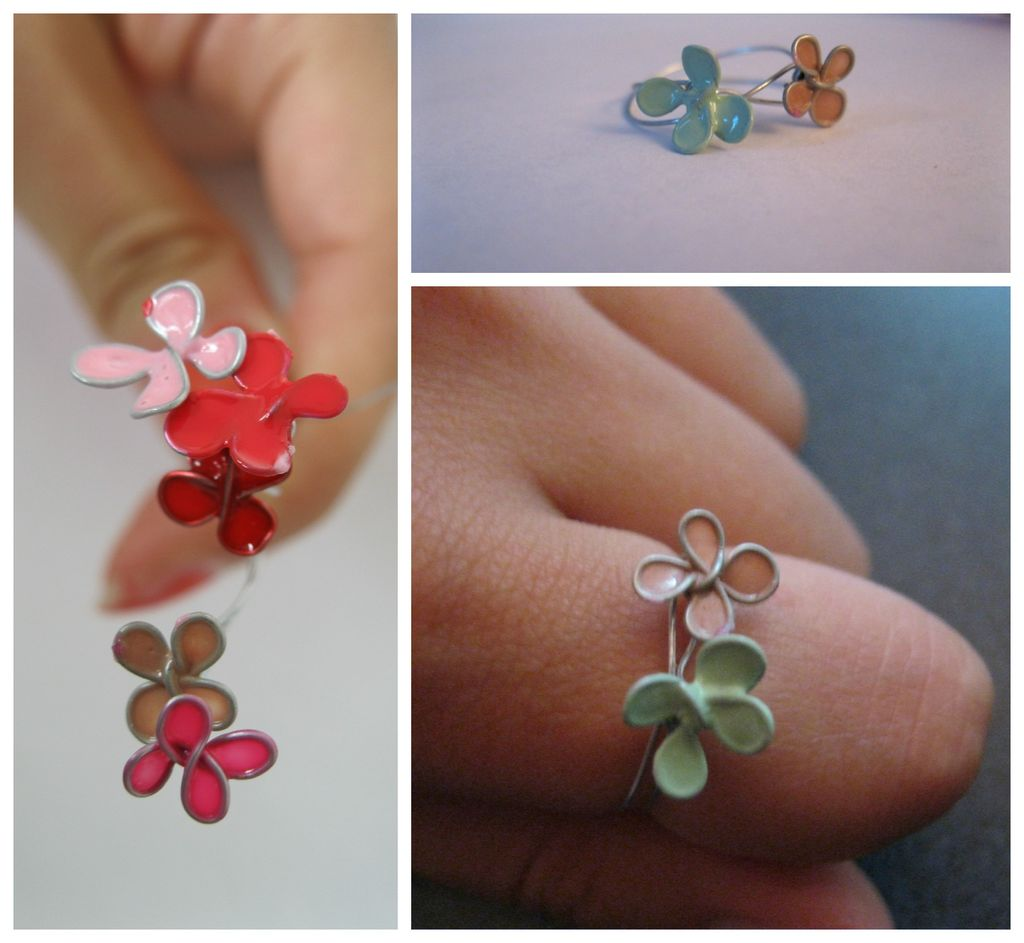 Faux Stained Glass And Enamel Jewelry Using Nail Polish The