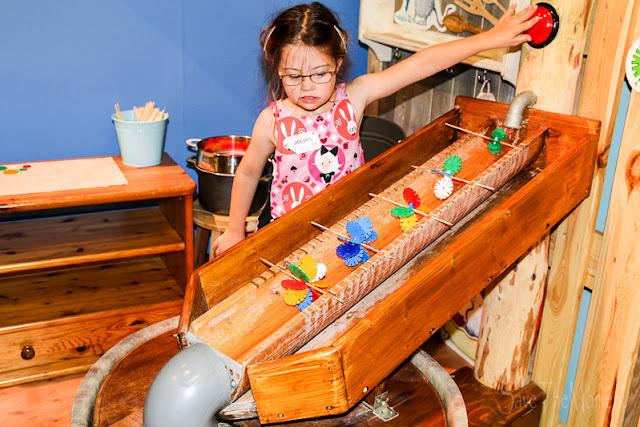 Mitmach-Ausstellung Total Genial Wasserräder