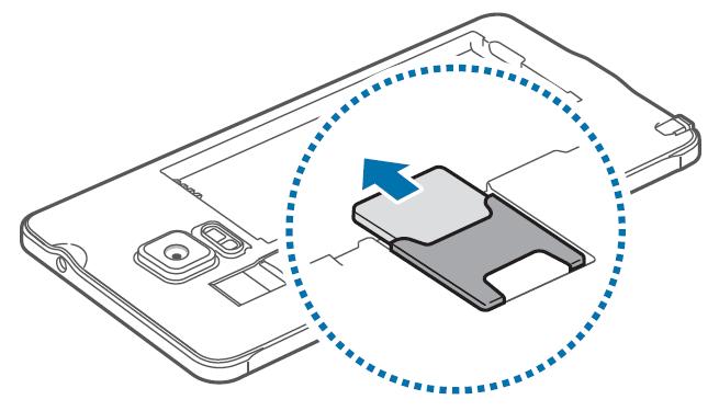 Come inserire SIM Galaxy Note 4 e come rimuoverla