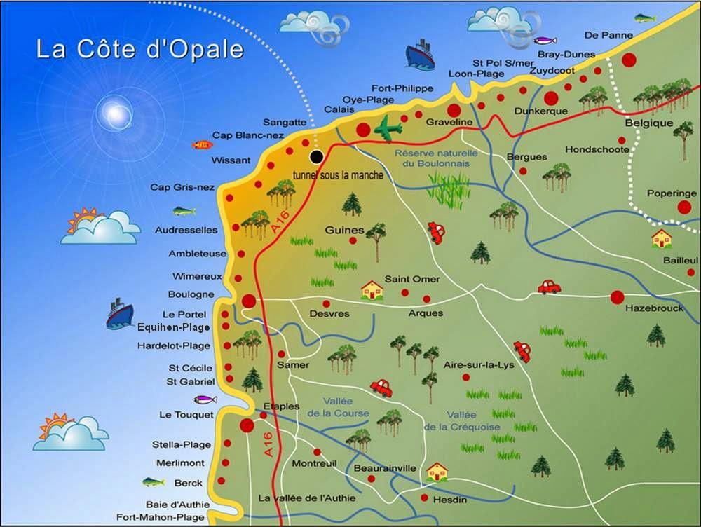 Voyages et exp riences nos escapades sur la c te d 39 opale - La cremaillere cote mer et hotel cote jardin ...