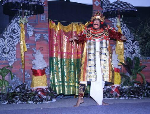 Topeng Dance Bali, Mask Dance Bali, Balinese Topeng Dance Drama, Topeng Dance In Bali