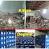 O antes e depois de Willame Anceles: Depósito de inseticidas e outros produtos tóxicos da URS