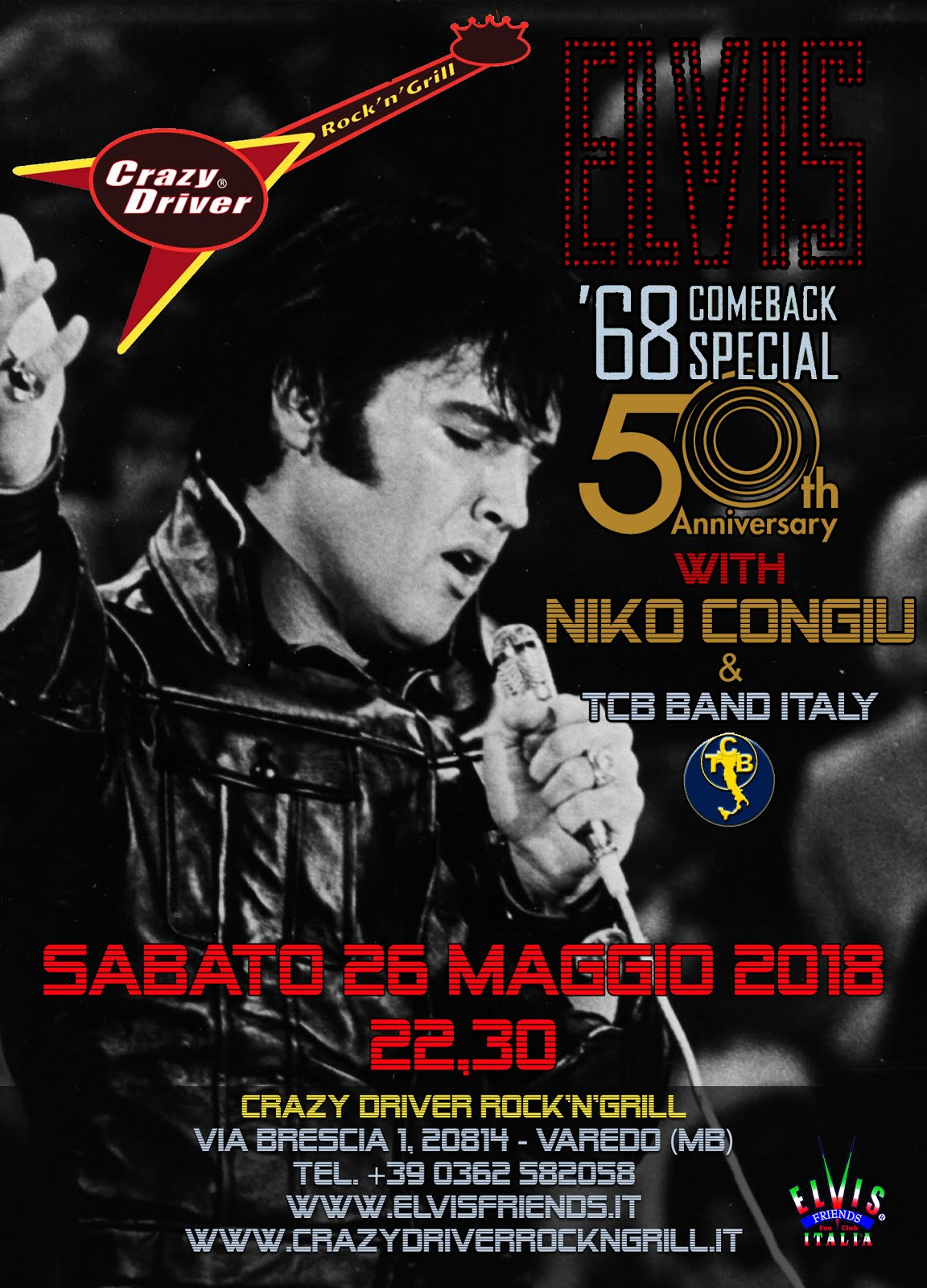 68 COMEBACK 50th ANNIVERSARY-Tribute
