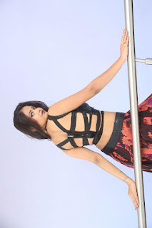 Shriya Vyas in a Tight Backless Sleeveless Crop top and Skirt 101.JPG
