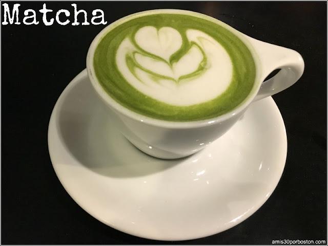 Cafeterías de Boston: Matcha, Té Verde Japonés