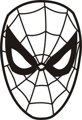 Cantinho Sonho Infantil Mascara Do Homem Aranha