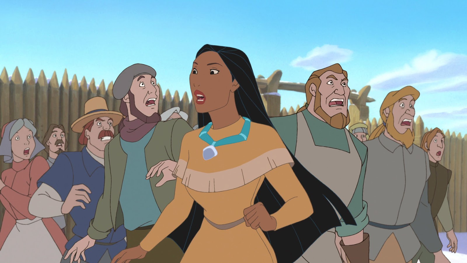 pocahontas analysis Pocahontas analysis i believe that the disney movie pocahontas is very inaccurate because of all the details that don't match up with the actual story parts involving pocahontas' age, the relationship between john smith and pocahontas, john smith's capture and the method of communication between pocahontas and john smith are.