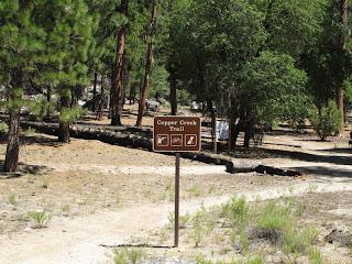 Der Anfang des Abenteuers - Copper Creek Trail