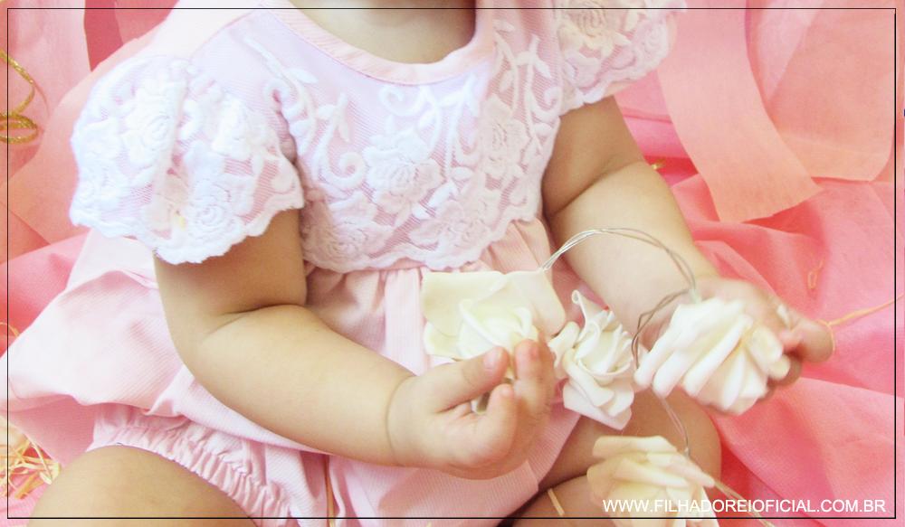 Ensaio Fotográfico - 8 Meses da Verônica - Lookinho Amy Baby Enxovais