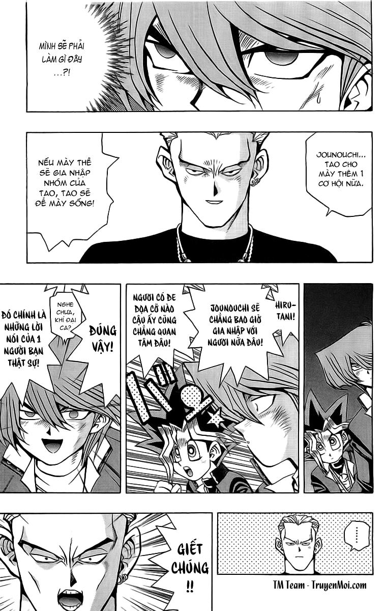 YUGI-OH! chap 49 - tiến lên jonouchi phần ii trang 3