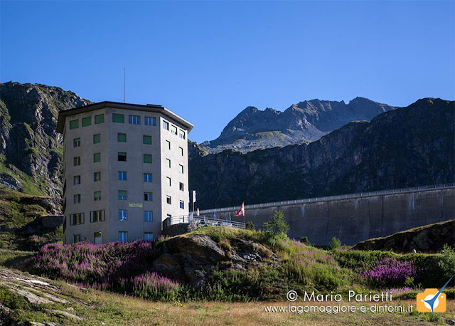 Robiei, il grande albergo e la diga