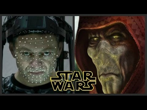 Le Chef Suprême Snoke dans Star Wars 7