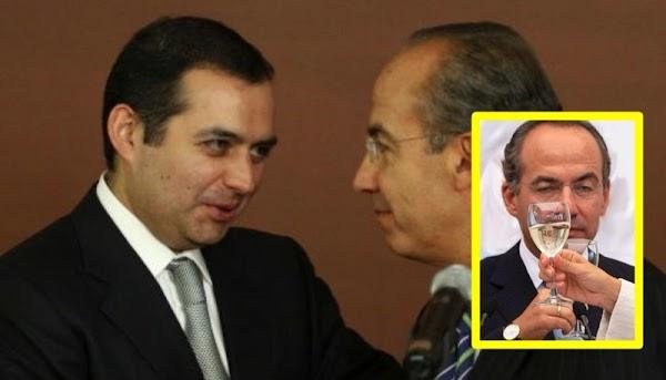 Calderón es 'el Presidente más querido del país', dice Ernesto Cordero.