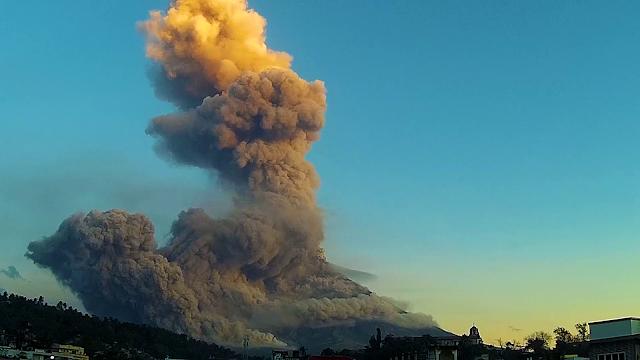Mayon Volcano Eruption