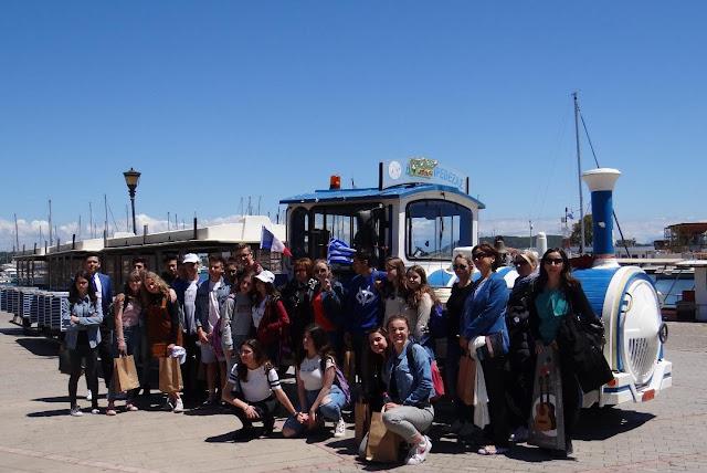 Πρέβεζα: ERASMUS+ N.A.T.A:Γάλλοι Μαθητές Στο 4ο Γυμνάσιο Πρέβεζας!