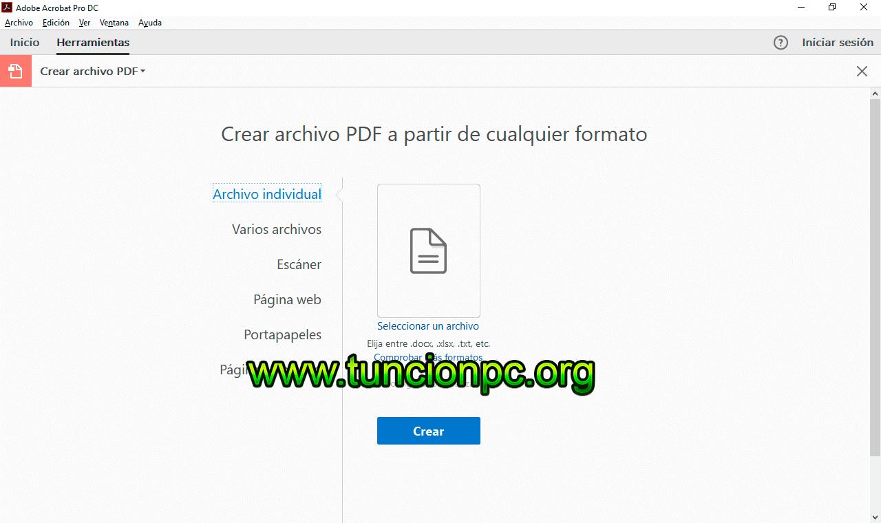 Adobe Acrobat Pro DC Multileguaje Español