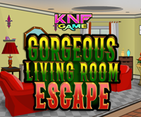 Knf Lovely Living Room Escape Walkthrough Black Leather Chair Gorgeous