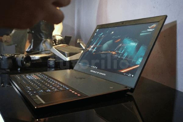 Laptop cocok untuk gaming terbaik, asus rog zephyruz gx501