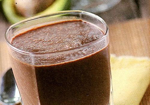 Resep jus alpukat campur susu dan coklat hitam