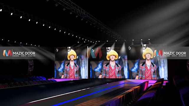 MazicDoor Fashion Show Stage Design 3