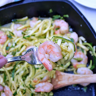 Shrimp Scampi Zoodles | by Life Tastes Good