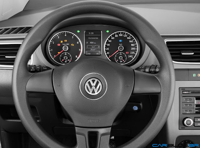 VW Fox Bluemotion 2013 - painel de instrumentos