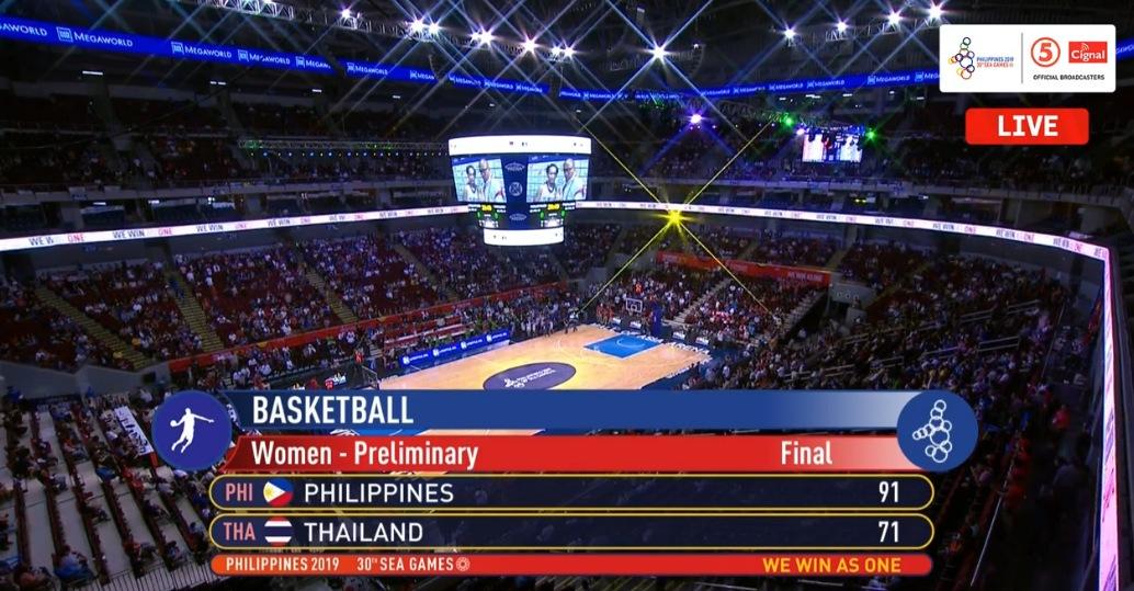 Gilas Pilipinas Women def. Thailand, 91-71 (REPLAY VIDEO) Women's 5x5 Basketball Gold | SEA Games 2019 | December 10