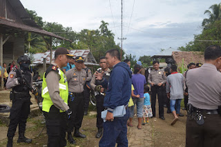 Mantap! Kapolres Nias Sambangi Sejumlah TPS Pada Pilkades Nias Utara