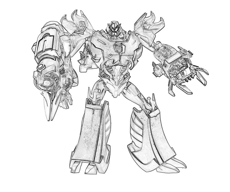 Transformers fall of cybertron bruticus character mario for Transformers coloring pages megatron