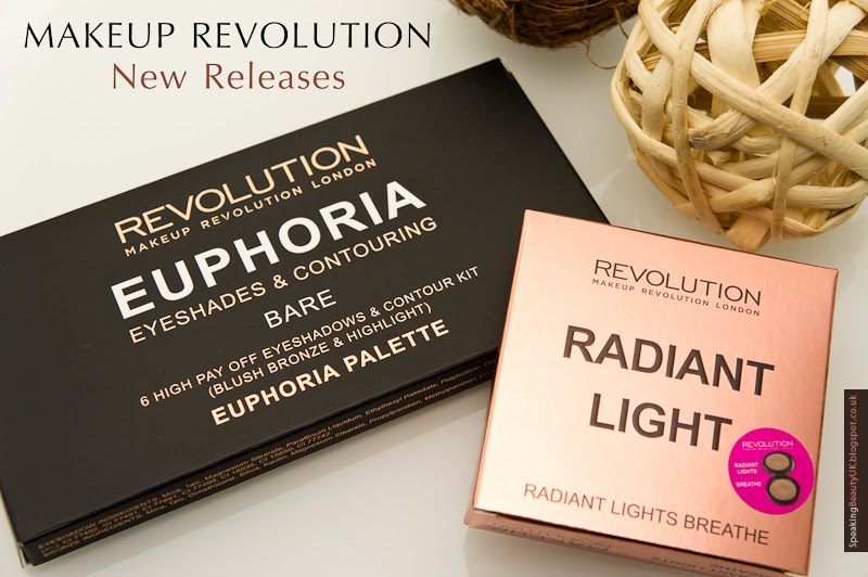 Euphoria Palette in Bare and Radiant Light in Breath