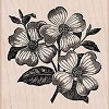 Hero Arts Dogwood Woodblock Stamp
