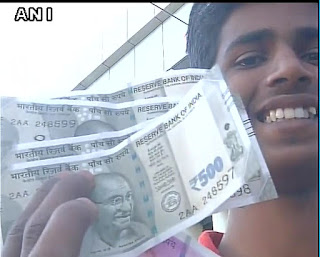 New Rupees 500 Notes To Be Introduced in Delhi,Mumbai and Bhopal