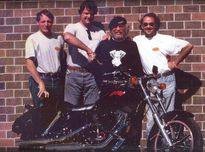 Willie G Davidson: Inazuma Café Racer