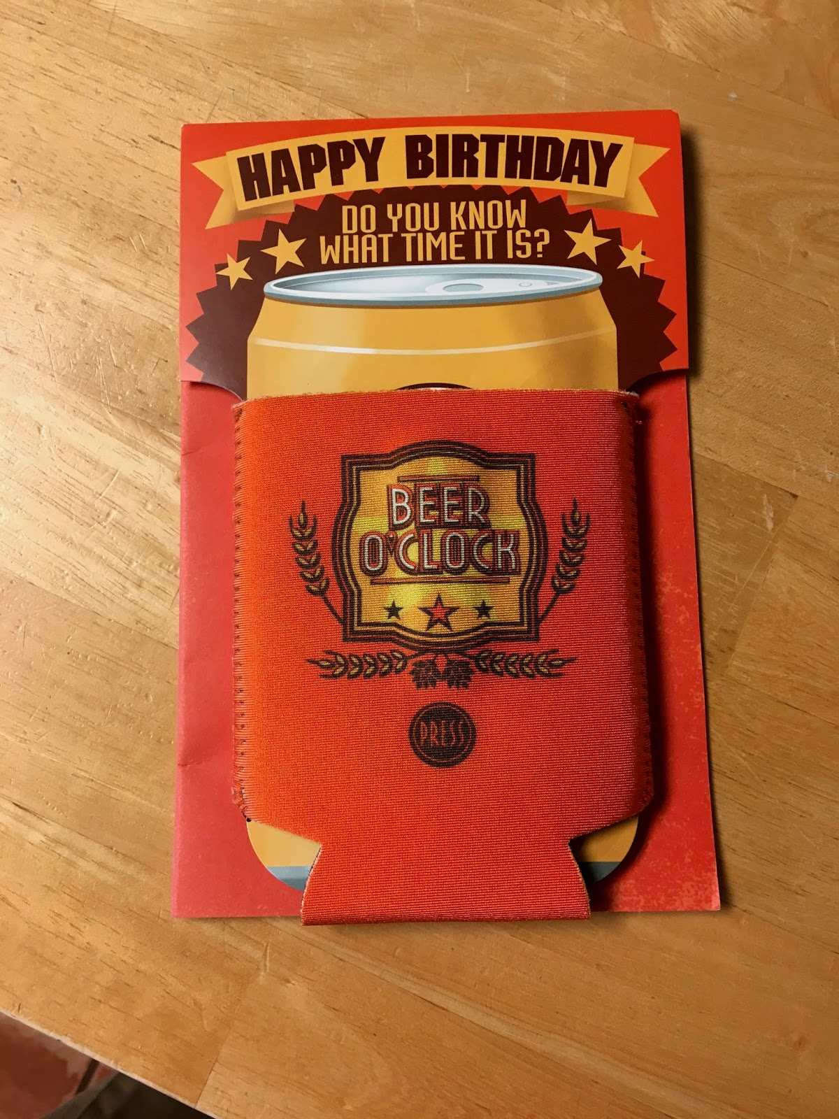 Birthday Card For A Beer Lover Complete With Doozie And Fun Song Purchased At Target