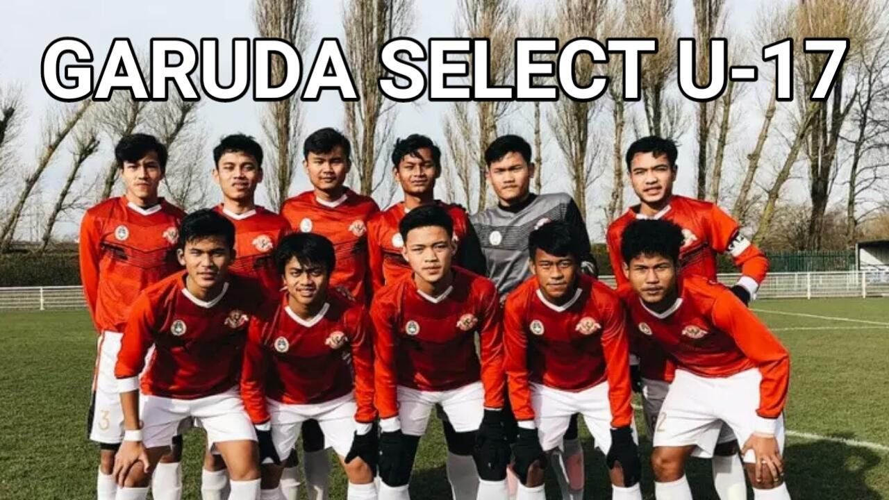 Jadwal Garuda Select U-17 di TVRI Nasional