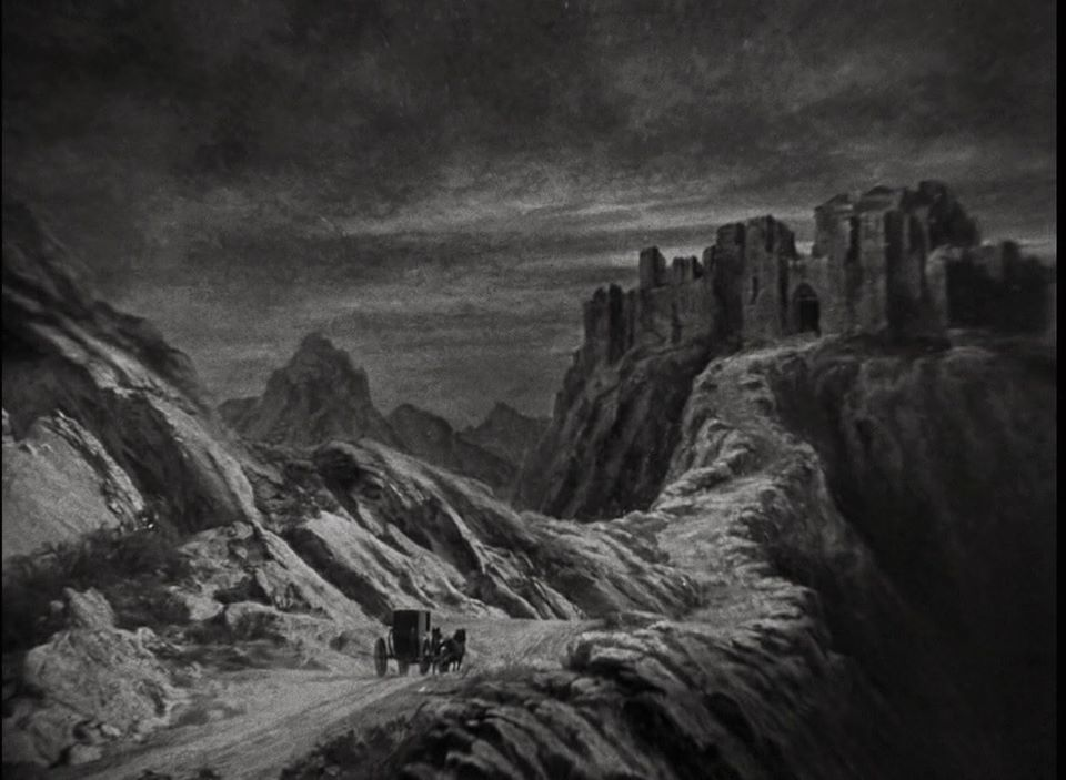 Bloody Pit of Rod: Matte Paintings from DRACULA (1931)