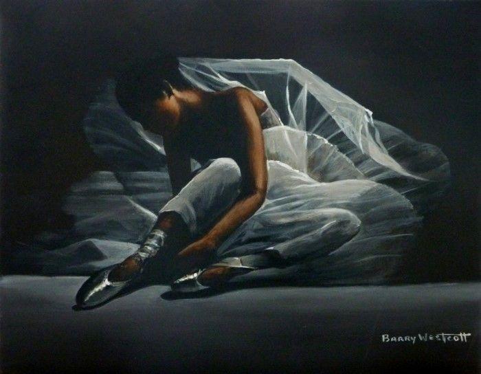 Британский художник. Barry Westcott