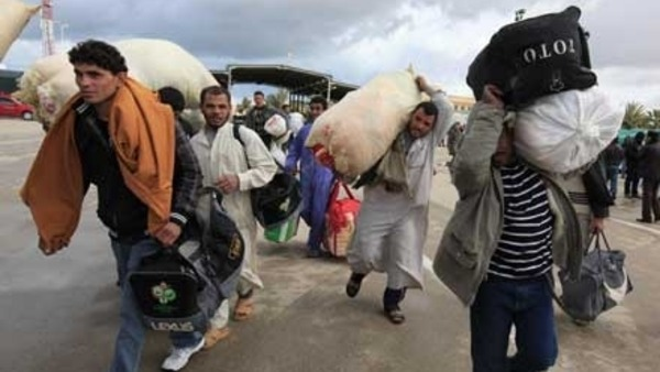 السعودية تقوم بترحيل 5 آلاف أسرة مصرية من أراضيها