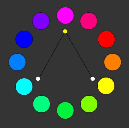 Armonía de colores primarios sustractivos. 7e482142d80b