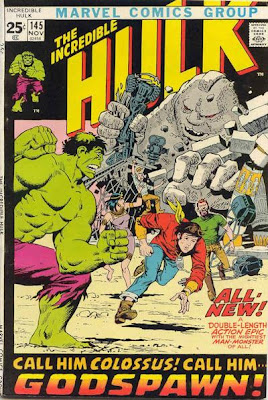 Incredible Hulk #145, Ancient Egyptian gods and the Sphinx