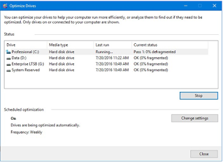 Cara Defrag di Windows 10