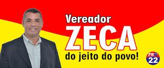 CLIQUE E ACESSE A FANPAGE DO VEREADOR ZECA