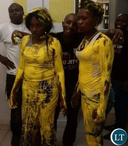 Omg! See What Was Done to 2 Women Who Were Caught Stealing From a Clothes Shop (Photos)