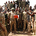 Military refutes claims of mutiny in Borno camp, shares photos of soldiers and their superiors