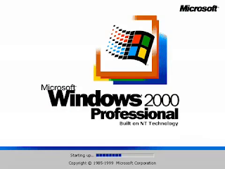 Font in Use: Windows 2000 Logo Font